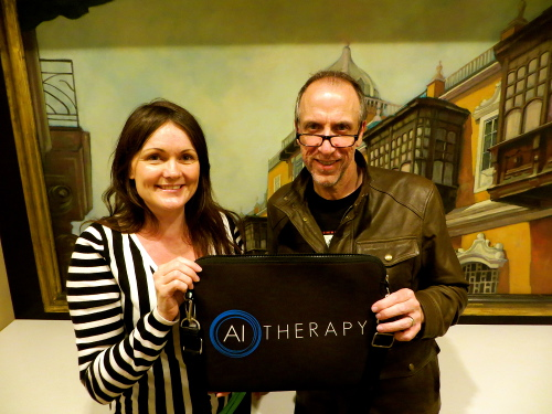AI-Therapy at the World Congress of CBT in Lima Peru