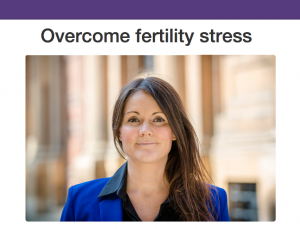Fertility stress