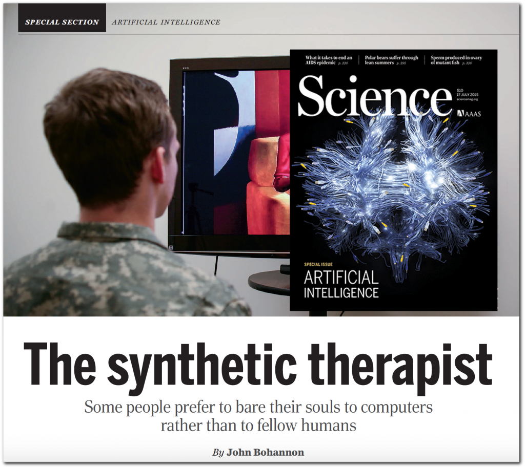 The synthetic therapist